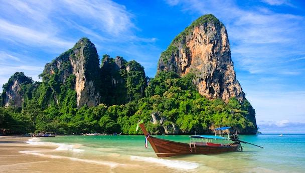 Krabi Phuket and Bangkok Land only