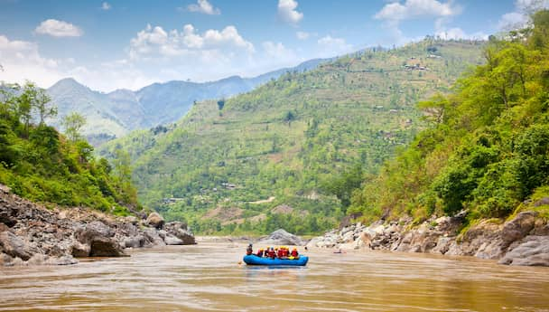 Rishikesh Camping Tour -  By Volvo Bus