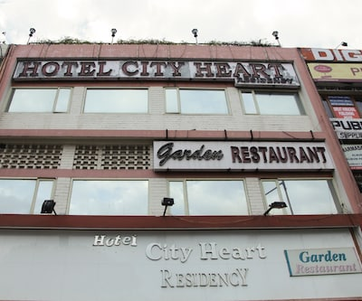 Hotel City Heart Residency,Chandigarh