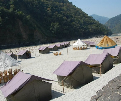 Camp Rapid Zone,Rishikesh