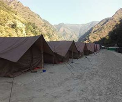Camp Thrillofun Sandpiper,Rishikesh