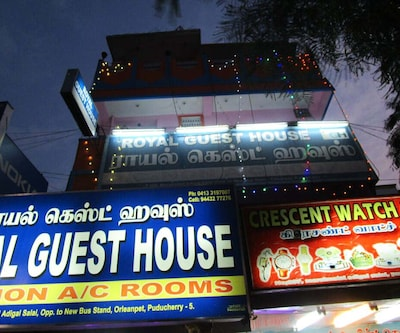 Royal Guest House,Pondicherry