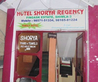 Hotel Shorya Regency,Shimla