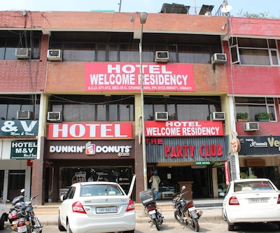 Hotel Welcome Residency,Chandigarh