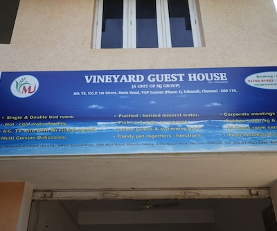 Vineyard Guest House,Chennai