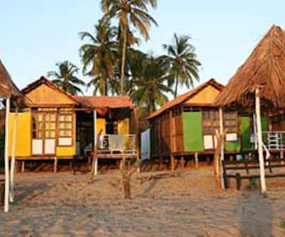 Bed Rock Beach Huts,Goa
