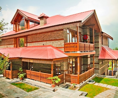 ShivAdya Handcrafted Resort,Manali