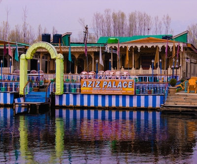 Aziz Palace - Group Of House Boats,Srinagar