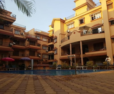 1 & 2 Bedroom Apartments-Calangute,Goa