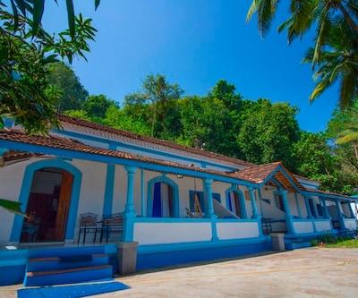 5 Bedroom Portuguese Villa-Chapora,Goa