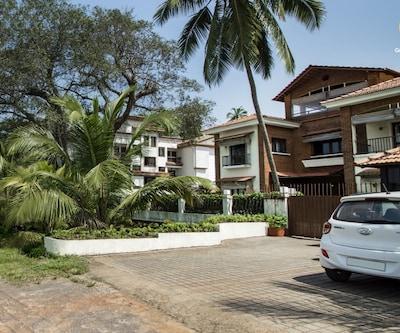 4-BR villa near Calangute Beach,Goa