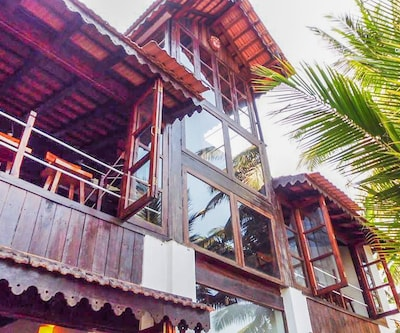 4-bedroom riverside villa, perfect for families,Goa