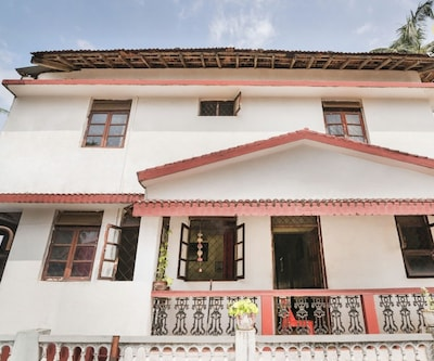 Homely single room for solo travellers, 150 m from Calangute beach,Goa