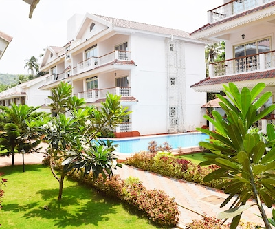 My Goa Stay 1 BHK Siolim Holiday Home with Pool,Goa