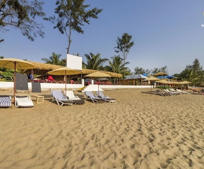 Traditional cottage for 3 at Agonda beach,Goa