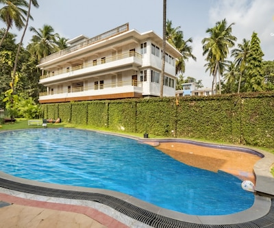 Tastefully done2-BR abode, close to Baga Beach,Goa