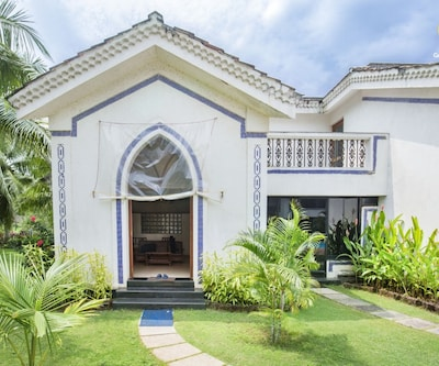 3-bedroom villa, 3 km from Anjuna beach,Goa