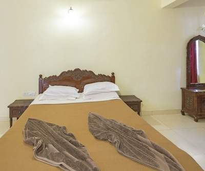 Vibrant 1-bedroom apartment, 900 m from Calangute beach, none,