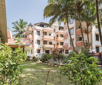 Rejuvenating boutique stay for three, 750 m from Colva beach,Goa
