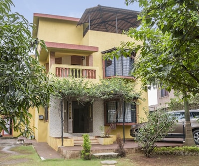 Idyllic 3-bedroom stay, close to Tungarli Lake,Lonavala