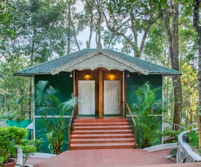 Elegantly furnished cottage ensconced in greenery,Munnar