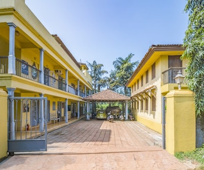 Elegantly done abode for three, close to Morjim Beach,Goa