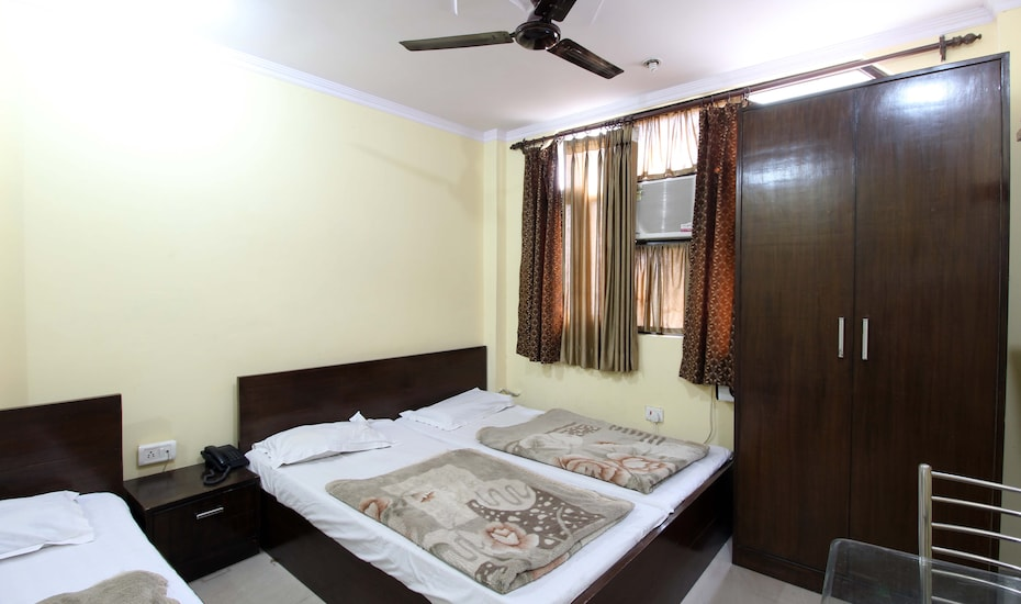 Hotel Satyam @ New Delhi Railway Station, Connaught Place,