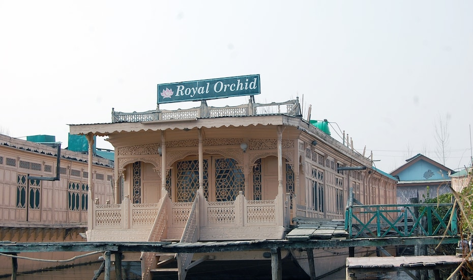 Royal Orchid House Boat, Dal Lake,