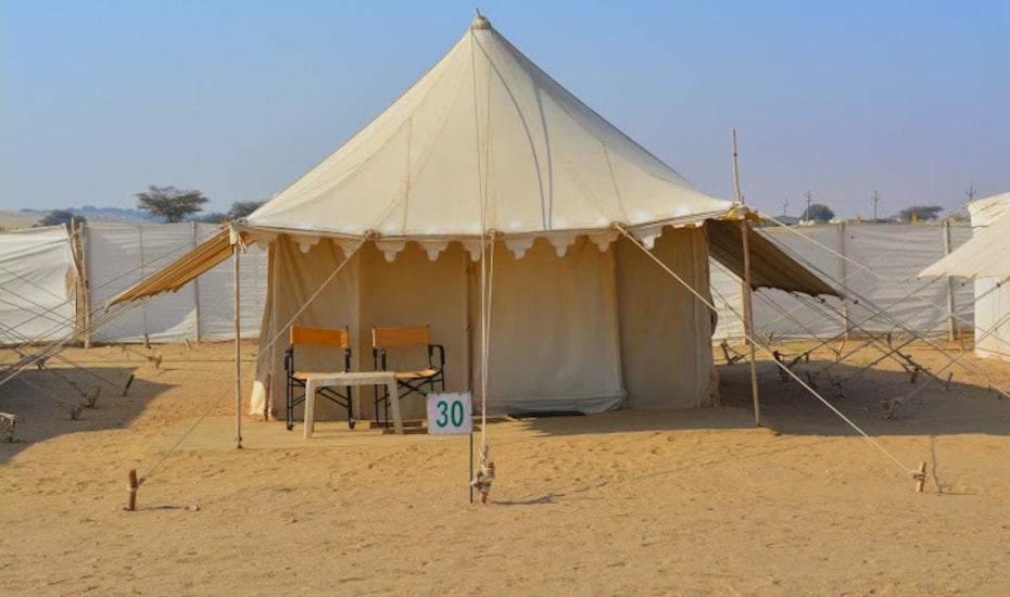 Colonel's Camp Oasis India, Sam Sand Dune,