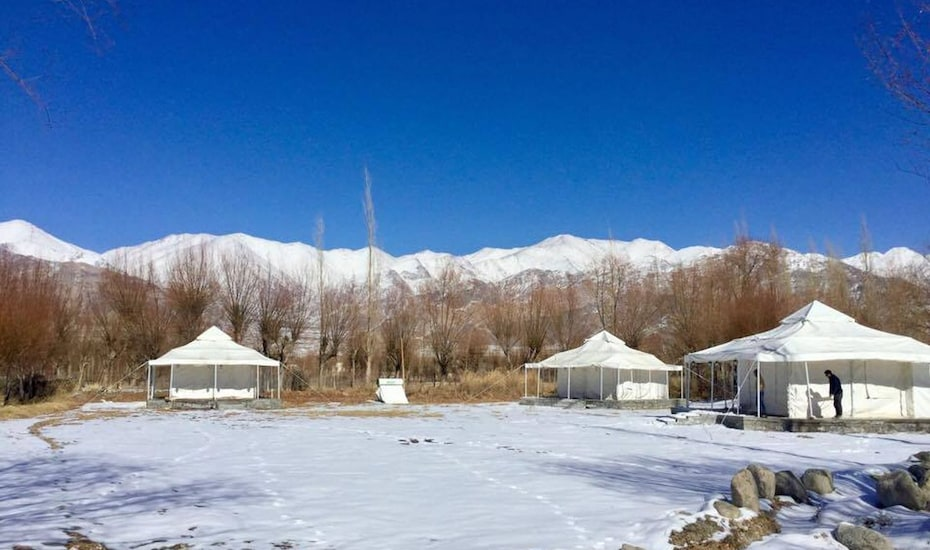 Himalayan Luxury Bivouacs,Leh