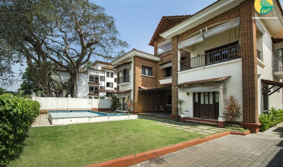 4-BR villa near Calangute Beach, Calangute Beach Road,