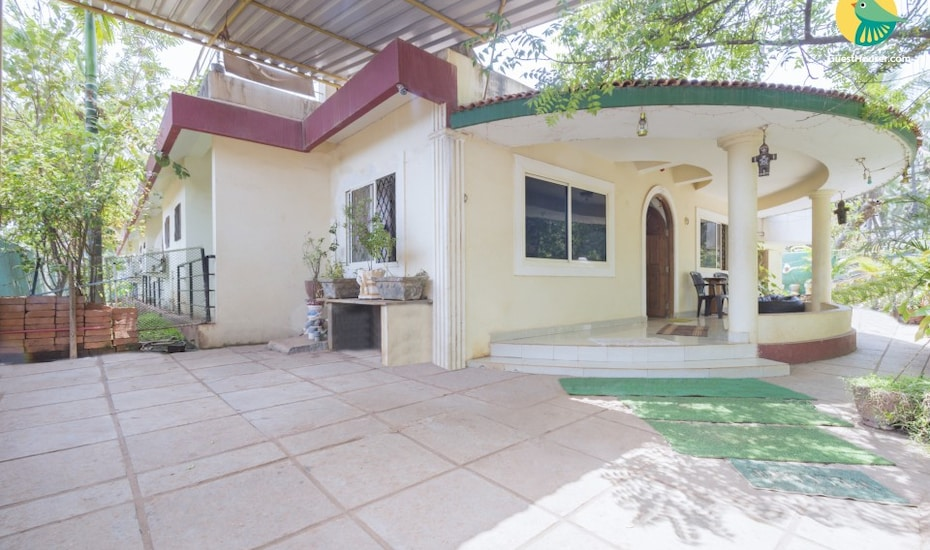 Idyllic abode with homely comforts, 1 km from Anjuna Beach, Anjuna,