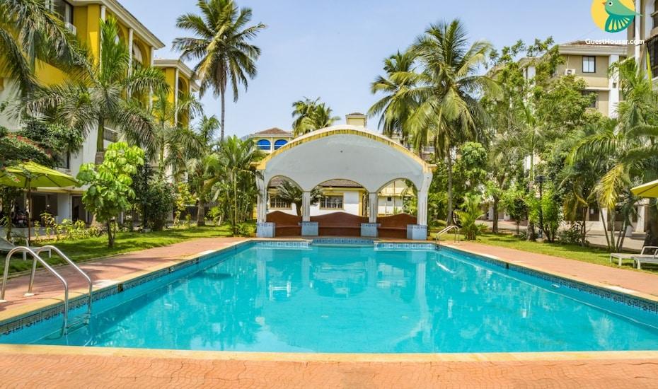 Plush B&B stay close to Colva Beach, ideal for a couple's retreat, none,