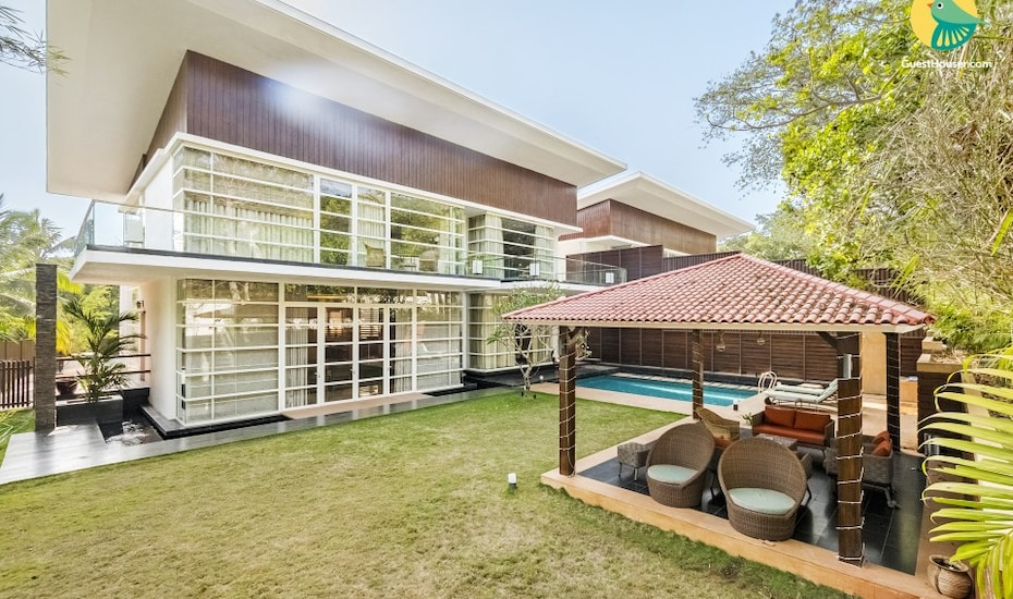 Luxurious 4-BR villa with a private pool, 2 km from Baga Beach, Arpora,