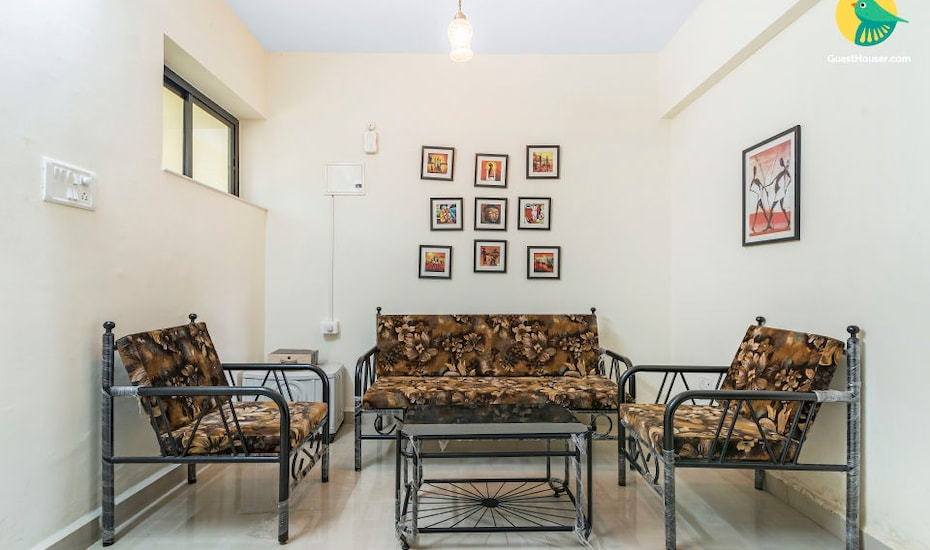 Blissful apartment with pool for 3, close to Vagator beach, Anjuna,