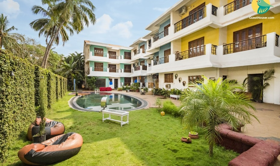 Tastefully done2-BR abode, close to Baga Beach, Arpora,