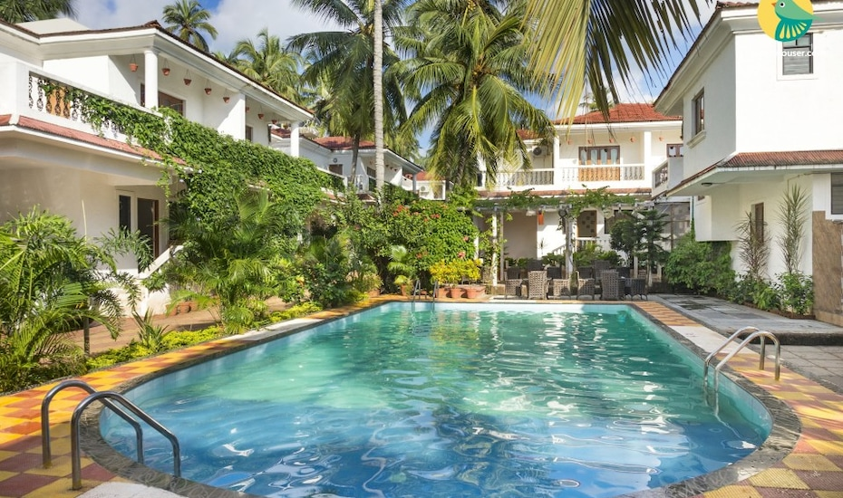 Lavish 4-BHK pet-friendly pool villa, in proximity to Baga and Calangute Beach, Bardez,