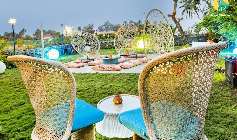 A vibrant stay for leisure travellers, 1.9 km from Baga Beach, Baga,