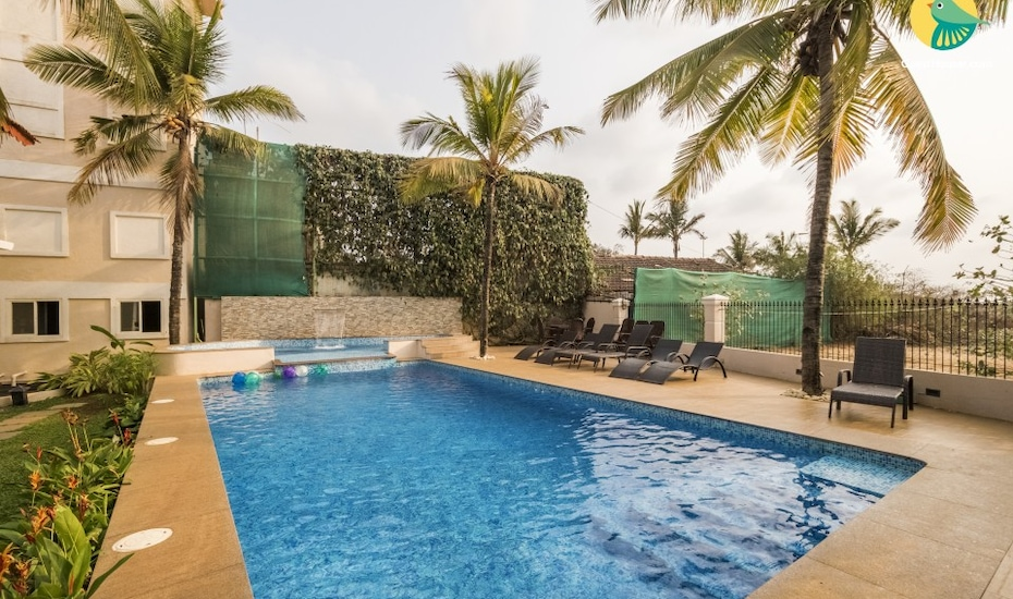 Chic abode with a romantic touch, near Candolim Beach, Candolim,