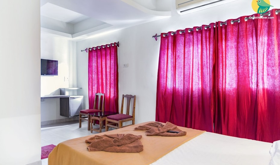 Boutique room for a beach holiday, 3.6 km from Calangute Beach, Calangute,