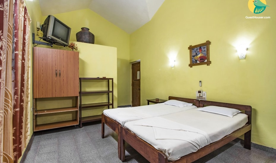 1-bedroom stay, 1 km from Vagator Beach, Vagator,