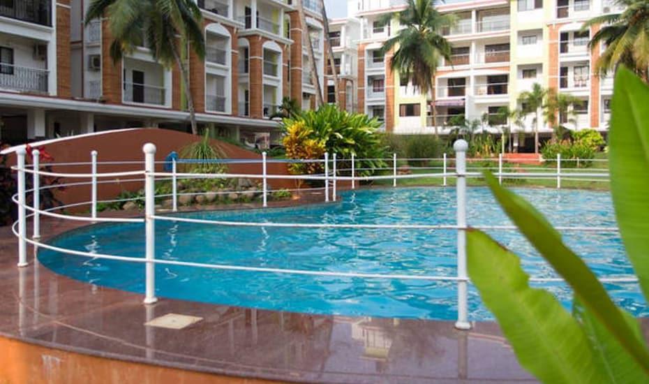 Comfortable Apartment Wing 2, Candolim,