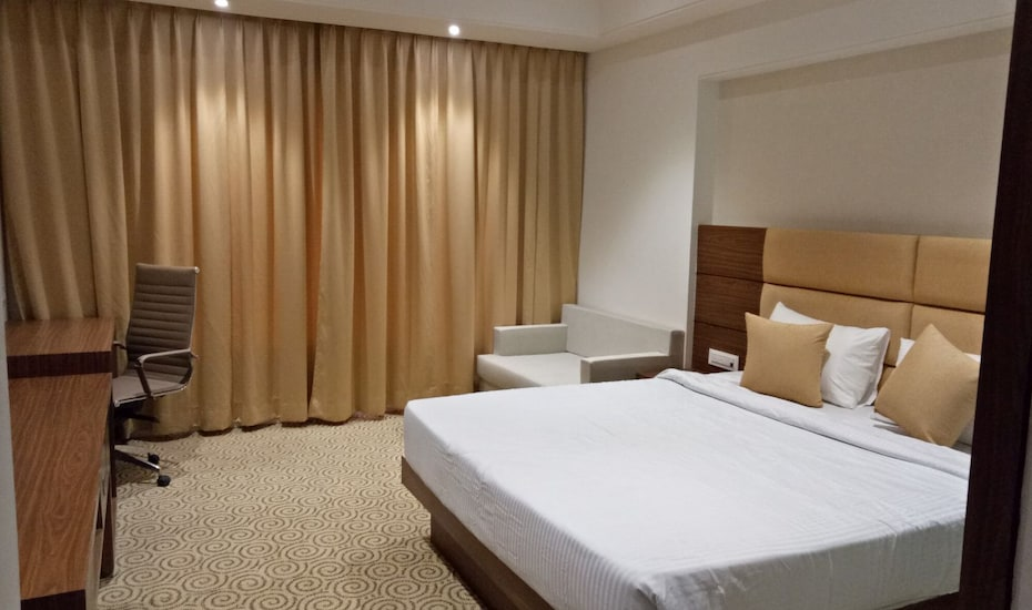 Pride Hotel & Convention Centre Indore, Arvindu hospital Road,