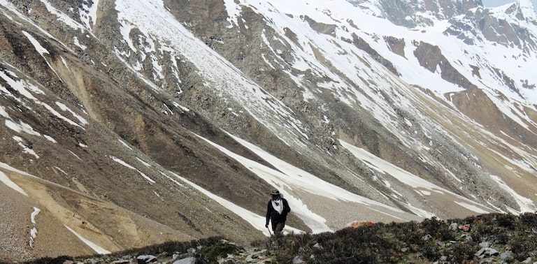 Lamkhaga Pass Trek. Courtesy: Yatra.com