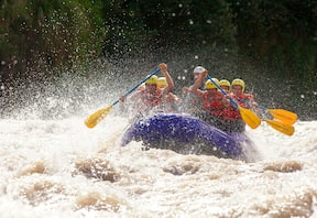 Rafting on River Kundalika