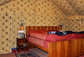 Camping at Banjara Camp in Sangla Valley