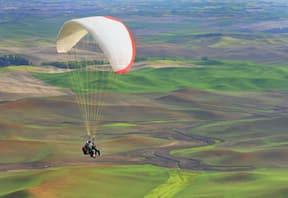 Tandem Paragliding at Kamshet, Maharashtra