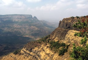 Sankshi Fort Trek with Rappelling at Diksal Waterfall, Karjat