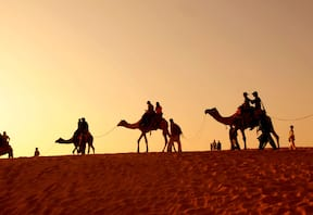 Jaisalmer Desert Safari with Stay in Mud Cottage