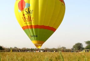 Hot Air Ballooning at Ranthambhore
